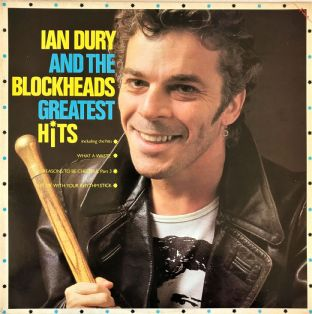 Ian Dury & The Blockheads ‎- Greatest Hits (LP) (EX/VG-)